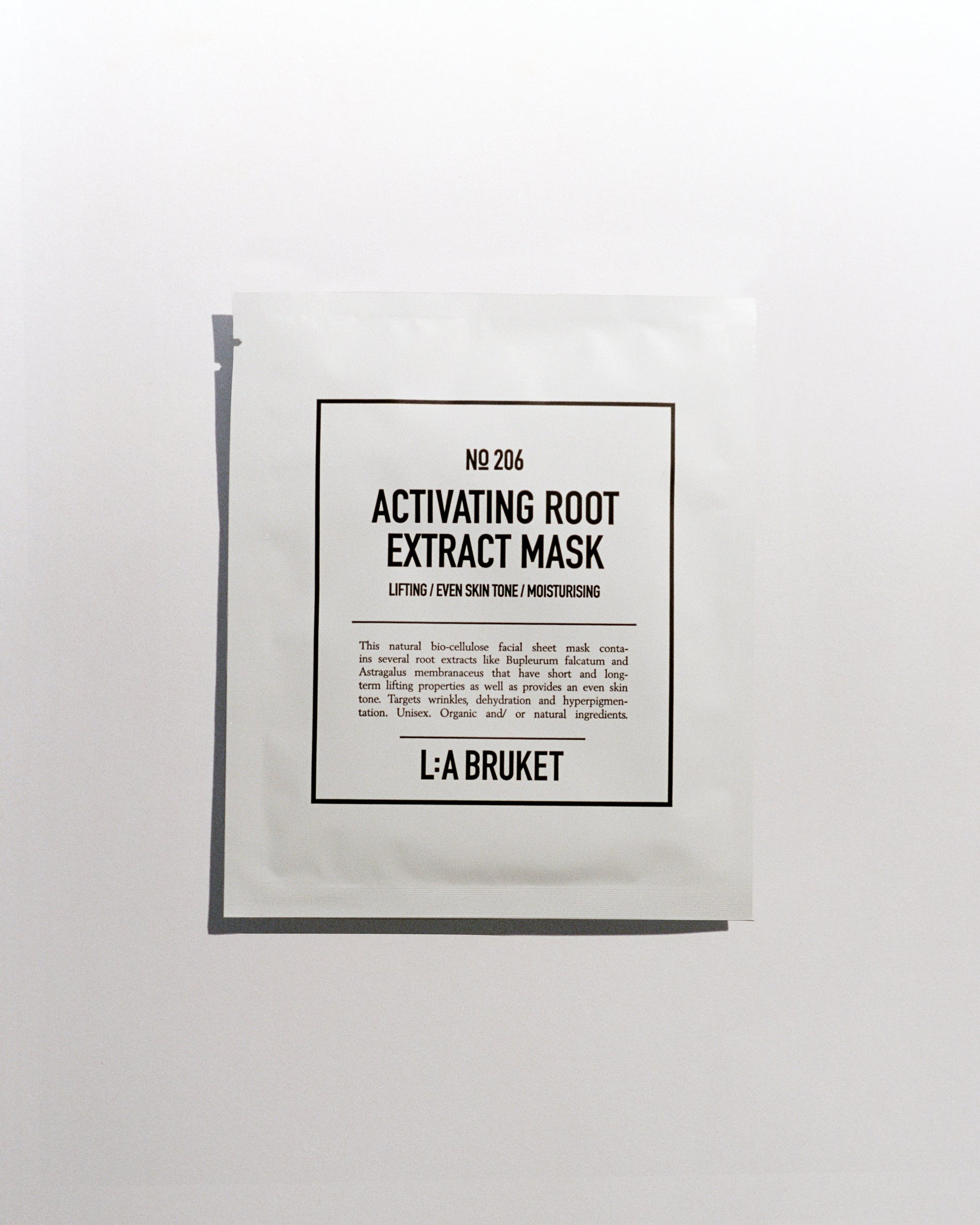 Activating root extract mask