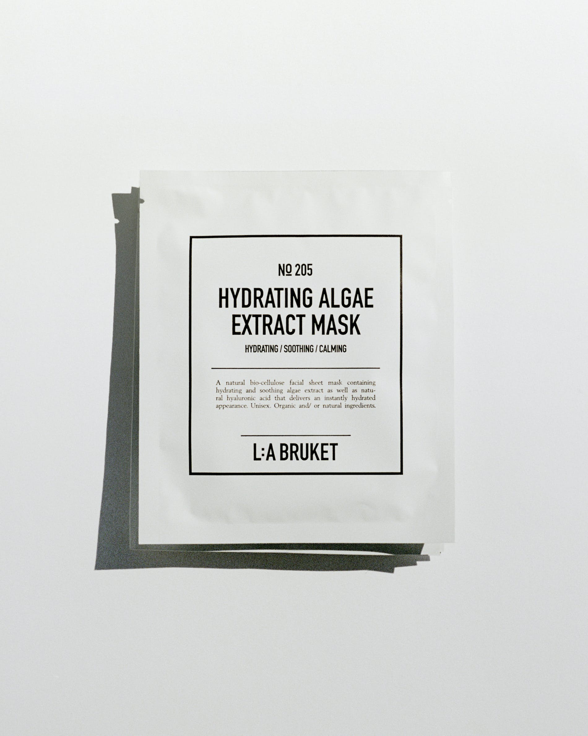 Hydrating algae extract mask